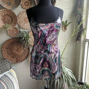 Intimately Free People S Rare Sheer Sequin Mini